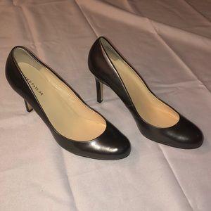 "❣️SOLD ann taylor 2.5"" silver heels"